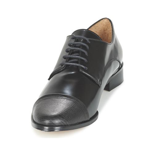 Mujer Sherlock Derbie Zapatos Go Emma Negro OnwP0k
