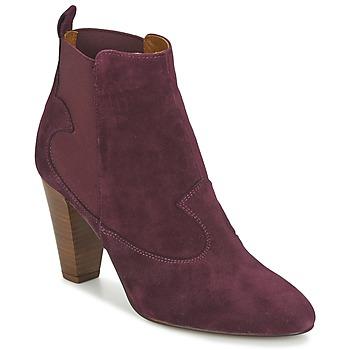 Zapatos Mujer Botines Heyraud DAISY Burdeo