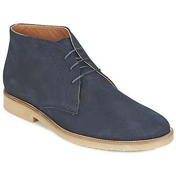 Zapatos Hombre Botas de caña baja Hackett CHUKKA BOOT Marino