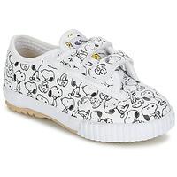 Zapatos Niños Zapatillas bajas Feiyue FE LO SNOOPY EC Blanco