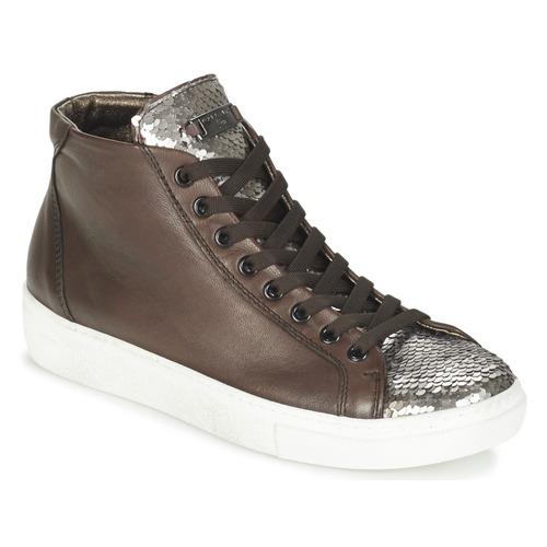 Gran descuento Zapatos especiales Tosca Blu ALEXA Marrón / Plateado