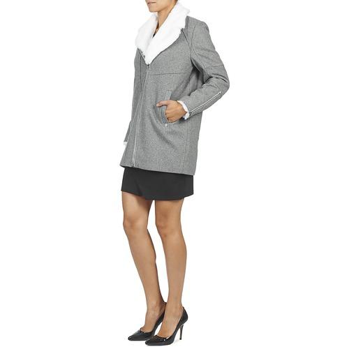 Textil Kaporal Mujer Abrigos Gris Cazal qMLSGUpVz