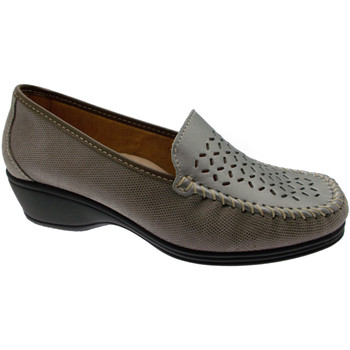 Zapatos Mujer Mocasín Loren LOK3929ta tortora