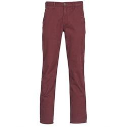 textil Hombre pantalones chinos Timberland SQUAM LAKE CHINO Burdeo