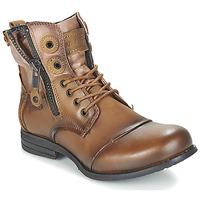 Zapatos Mujer Botas de caña baja Bunker SARA Marrón