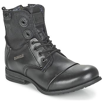 Zapatos Mujer Botas de caña baja Bunker SARA Negro