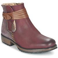 Zapatos Mujer Botas de caña baja Bunker TAYLOR Burdeo