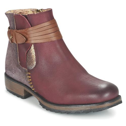 Bunker TAYLOR Burdeo - Envío Zapatos gratis Nueva promoción - Zapatos Envío Botas de caña baja Mujer 112,00 825b9d