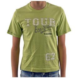 textil Niños Camisetas manga corta Diadora  Verde