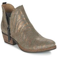 Zapatos Mujer Botas de caña baja Coqueterra LIZZY Oro