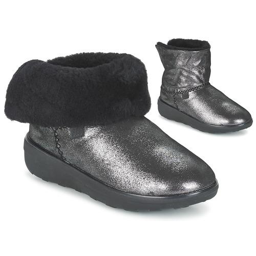 FitFlop SUPERCUSH MUKLOAFF SHIMMER Plata - Envío gratis Nueva promoción caña - Zapatos Botas de caña promoción baja Mujer 140,00 cd853d