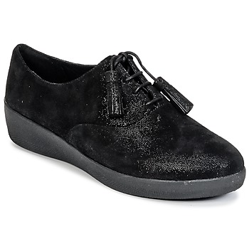 Zapatos Mujer Derbie FitFlop CLASSIC TASSEL SUPEROXFORD Negro