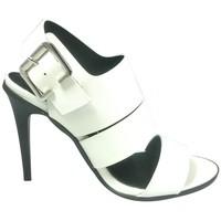 Zapatos Mujer Sandalias Cassis Côte d'Azur Sandales Talons Hauts Beltaine Blanc Blanco