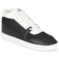 Zapatos Hombre Zapatillas altas Sixth June NATION WIRE Negro / Blanco