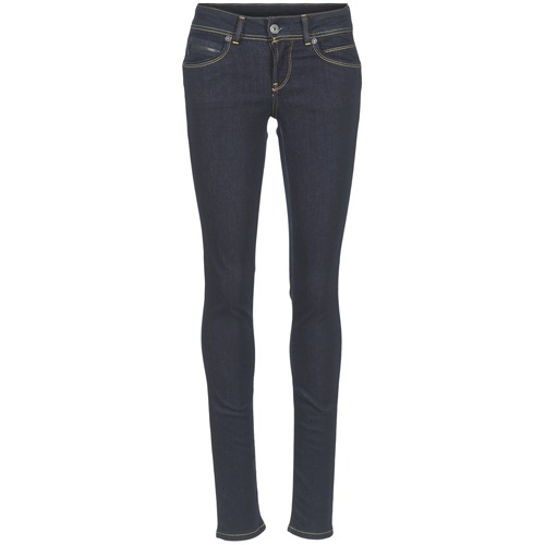 textil Mujer vaqueros slim Pepe jeans NEW BROOKE M15 / Azul / Oscuro