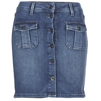 textil Mujer Faldas Pepe jeans SCARLETT Azul