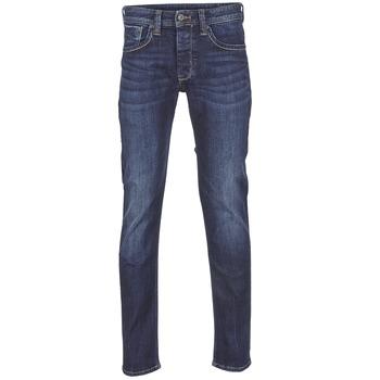 textil Hombre vaqueros rectos Pepe jeans CASH Azul
