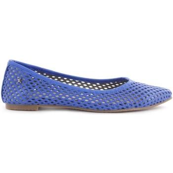 Zapatos Mujer Bailarinas-manoletinas Cubanas Sabrinas Martina110 Dazzling Azul