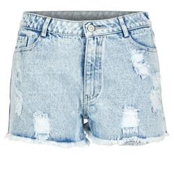 textil Mujer Shorts / Bermudas Yurban EVANUXE Azul / Claro