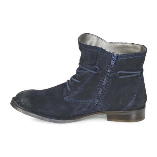 Zapatos Botas De Caña Baja Leeale Bugatti Mujer Marino lJKc1F