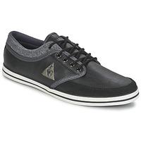 Zapatos Hombre Zapatillas bajas Le Coq Sportif DENFERT S LEA/FELT Negro / Gris