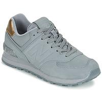 Zapatos Mujer Zapatillas bajas New Balance WL574 Gris