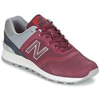 Zapatos Zapatillas bajas New Balance MTL574 Rojo / Gris