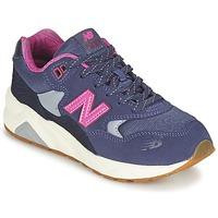 Zapatos Niña Zapatillas bajas New Balance KL580 Violeta / Rosa