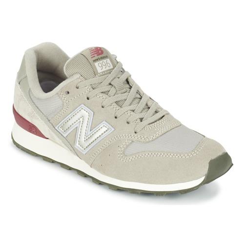 Zapatos Mujer Zapatillas bajas New Balance WR996 Gris