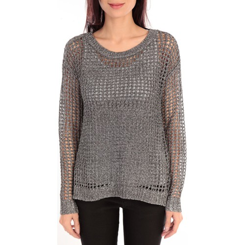 textil Mujer Jerséis Vero Moda HEN LS BLOUSE KM 88036 Gris Gris