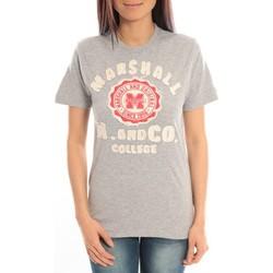 textil Mujer Camisetas manga corta Sweet Company T-shirt Marshall Original M and Co 2346 Gris Gris