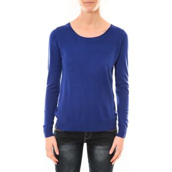 textil Mujer Jerséis Nina Rocca Pull MC7033 bleu Azul