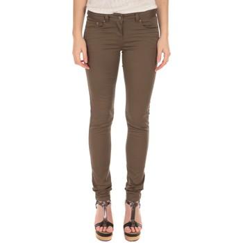 textil Mujer Vaqueros slim LPB Woman Les Petites Bombes Pantalon Slim Strech Kaki S161201 Verde