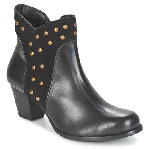 Cómodo y bien parecido Zapatos especiales Hush puppies KRIS KORINA Negro