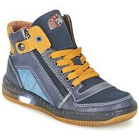 Zapatos Niño Zapatillas altas Primigi ADAM-E Azul / Amarillo