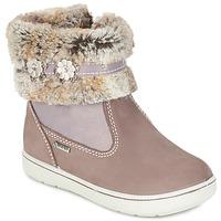Zapatos Niña Botas de caña baja Primigi MARINA-E Beige / Rosa