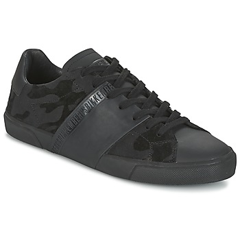 Zapatos Hombre Zapatillas bajas Bikkembergs RUBBER CAMOUFLAGE Negro