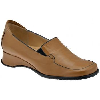 Zapatos Mujer Mocasín Bettina  Beige