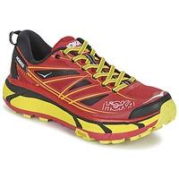 Zapatos Hombre Running / trail Hoka one one MAFATE SPEED 2 Rojo / Limón