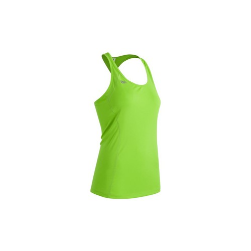 textil Mujer camisetas sin mangas New Balance WT61227TOX Amarillo