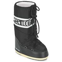 Zapatos Botas de nieve Moon Boot MOON BOOT NYLON Negro