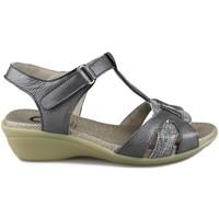 Zapatos Mujer Sandalias Yio VIKY GRIS