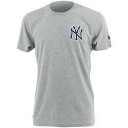 textil Hombre camisetas manga corta New Era MLB New York Yankees tee Gris
