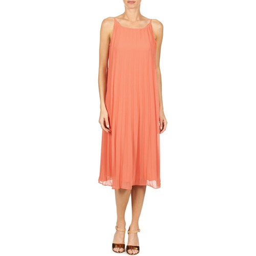 Largos Mujer Vestidos Coral 616757 Bcbgeneration Textil dxWeBrCo