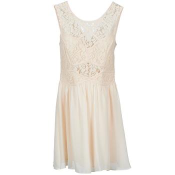 textil Mujer vestidos cortos BCBGeneration 617574 Beige