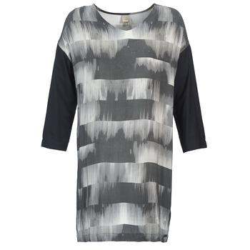 textil Mujer vestidos cortos Bench CRISP Negro / Gris