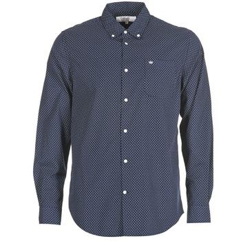textil Hombre camisas manga larga Vicomte A. JANOUPE Marino