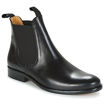 Zapatos Hombre Botas de caña baja Brett & Sons LOUVAL Negro