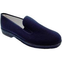 Zapatos Hombre Pantuflas Davema DAV050b blu