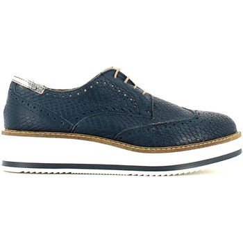 Zapatos Mujer Senderismo Grace Shoes AA46 Lace-up heels Mujeres Blue